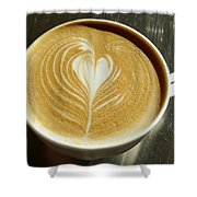 Cappuccino Shower Curtain