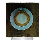 Cappuccino In A Cup Shower Curtain
