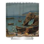 Capri Beach Shower Curtain