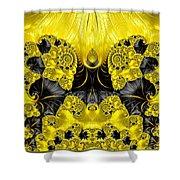 Caprice - Abstract Shower Curtain