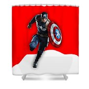 Captain Collection Shower Curtain