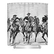 Captain Dodge's Troopers To The Rescue Shower Curtain