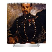 Captain Edouard Bernier 1871 Shower Curtain