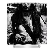 Captain Jack Shower Curtain