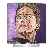 Captain Jack Harkness Shower Curtain