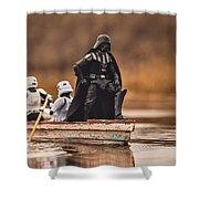 Captain Vader Shower Curtain