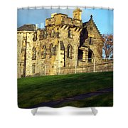 Caption Hill Building Shower Curtain