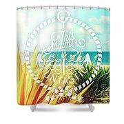 Captiva Island I Shower Curtain