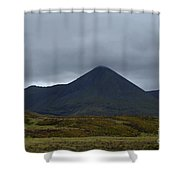 Captivating View Of The Mountains In Cuillen Hills  Shower Curtain