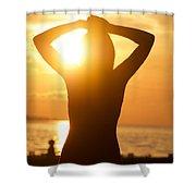 Capture Light Shower Curtain