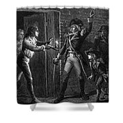 Capture Of Fort Ticonderoga, 1775 Shower Curtain