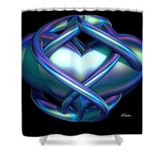 Captured Heart Shower Curtain