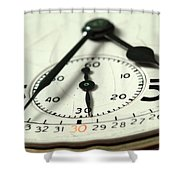 Captured Time Shower Curtain