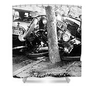 Car Accident, C1919 Shower Curtain