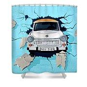 Car Graffiti Shower Curtain