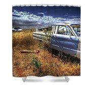Car Graveyard Shower Curtain