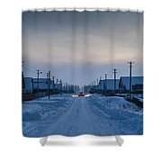 The Road Away From Here Shower Curtain