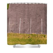 Car Parking Bays Shower Curtain
