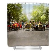 Car - Race - Hold On To Your Hats 1915 Shower Curtain