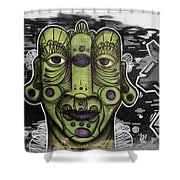 Cara Verde 2 Shower Curtain
