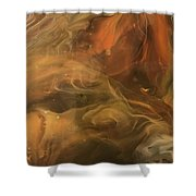 Caramel Cream  Shower Curtain
