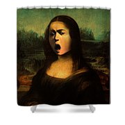 Caravaggio's Mona Shower Curtain