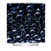 Carbonated Shower Curtain