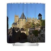 Carcassonne Castle Shower Curtain