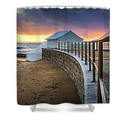 Carcavelosbeach - Portugal Shower Curtain