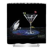 Card Shark Shower Curtain