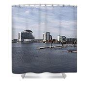 Cardiff Bay 3 Shower Curtain