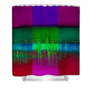 Cardinal Landscape Shower Curtain