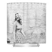 Carefree Shower Curtain