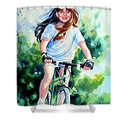 Carefree Summer Day Shower Curtain