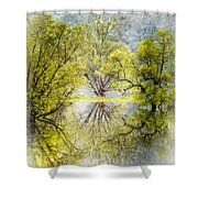 Caress In The Mist Shower Curtain