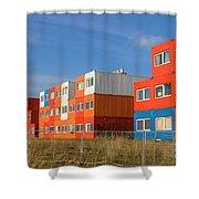 Cargo Homes Shower Curtain