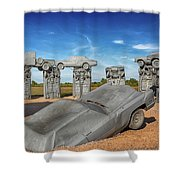 Carhenge Shower Curtain
