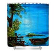 Caribbean Bueaty Shower Curtain