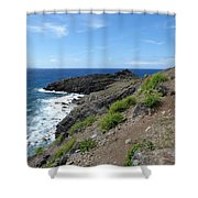 Caribbean Coastal Path Shower Curtain