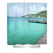 Caribbean Dream Shower Curtain