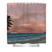 Caribbean Dreams Shower Curtain