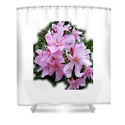 Caribbean Oleander Shower Curtain