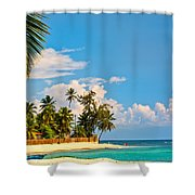 Caribbean Paradise Shower Curtain
