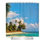 Caribbean Paradise Shower Curtain