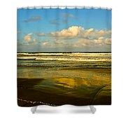 Caribbean Seascape Shower Curtain