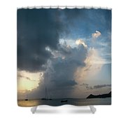 Caribbean Skies And Light 1 Shower Curtain