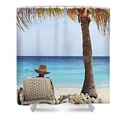 Caribbean Standards Shower Curtain