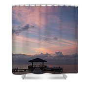Caribbean Sunrise Shower Curtain