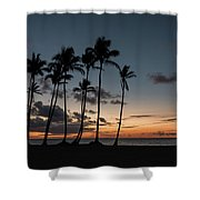 Caribbean Sunrise Shower Curtain