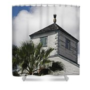 St. Maarten Welcome Shower Curtain
